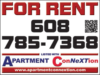 Apartment ConNeXTion yard sign